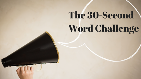 The 30-SecondWord Challenge-2