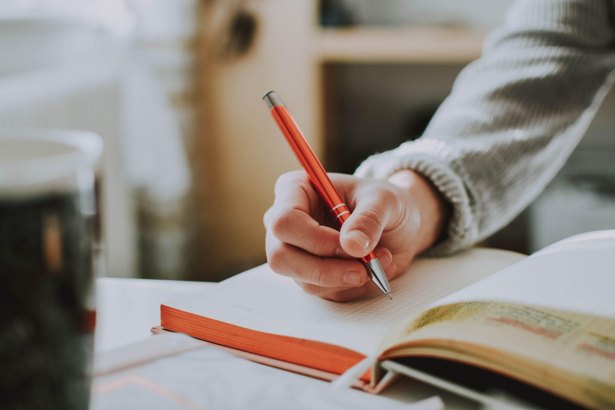Writing it Down—Making it Happen
